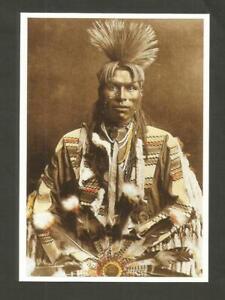 CARTE POSTALE INDIEN AMERIQUE PIEGAN BLACKFOOT