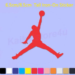 2254b8d025e Michael Jordan JumpMan Iron On LOGO DIY T-Shirt Clothes Vinyl ...