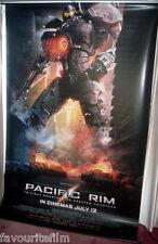 Cinema Banner: PACIFIC RIM 2013 (Road) Guillermo del Toro Idris Elba Burn Gorman