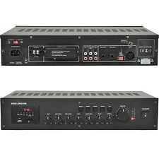100V 240W 4 Zone Mischverstärker–8Ohm Lautsprecher Verteiler–Rackmount USB FM