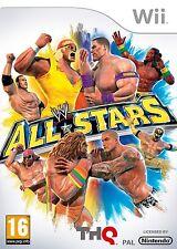 WWE ALL STARS=NINTENDO Wii=WRESTLING=WWF=WW=WRESTLEMANIA=4 X PLAYER=UK AGE 16+