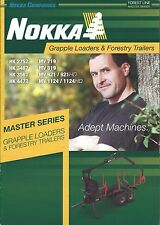 Equipment Brochure - Nokka - Grapple Log Loader Trailer Logging (E3752)