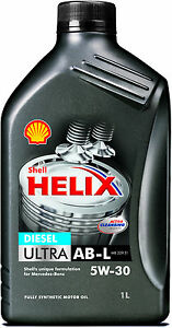 Shell helix diesel ultra ab l 5w 30 fully synthetic engine for Shell diesel motor oil