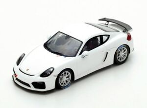 Porsche-Cayman-gt4-Club-Sport-2017-Alpine-White-s5200-Spark-1-43-New-in-a-box