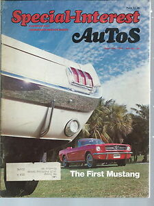 NI-012 - Special Interest Autos Magazine Sept Oct 1974 Ford Mustang Nash Rambler