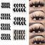 UK-5-Pairs-3D-Fake-Eyelashes-Long-Thick-Natural-False-Eye-Lashes-Set-Mink-Makeup 縮圖 3