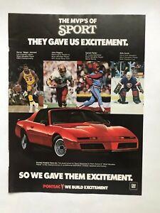 Thunder Am Magazine Pontiac Firebird Trans Am 1967 1968 1971 1972 1973 1974 NOS