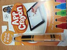 NEW App Crayon stylus for iPhone iPad iPod Touch orange