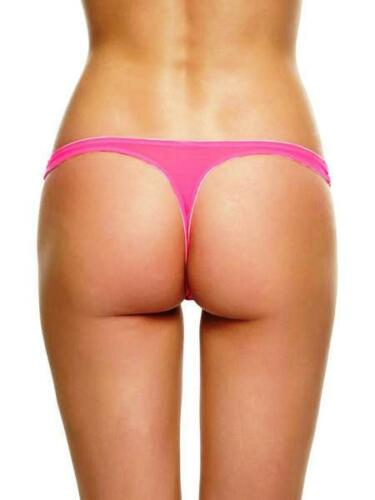 eu 34//36 @BNWT @ new Ann summers amberly hot//fluo rose string tailles uk 8//10
