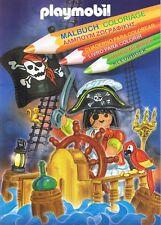 PLAYMOBIL - RARE Album de coloriage Coloring book 2007 - Etat neuf !