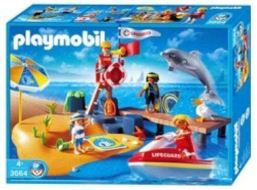 Playmobil 3664 The Beach Rare Collectable
