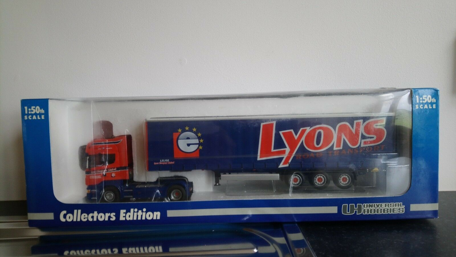 UNIVERSAL HOBBIES SCANIA LYONS TRANSPORT