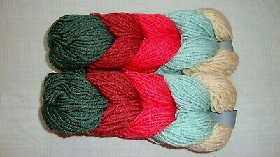 3 Skeins Patons Classic Wool DK Yarn 100/% Virgin Wool #246012 Navy NEW