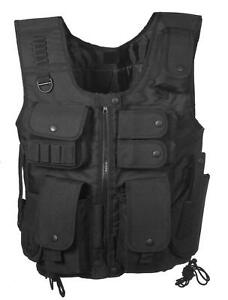 Holster Vest w t Police Crossdraw Style S Black a Mag In Tactical zqdpX