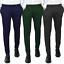 Pantalone-Uomo-Chino-Primaverile-slim-fit-Pantaloni-Eleganti-Blu-Verde-Nero miniatura 1