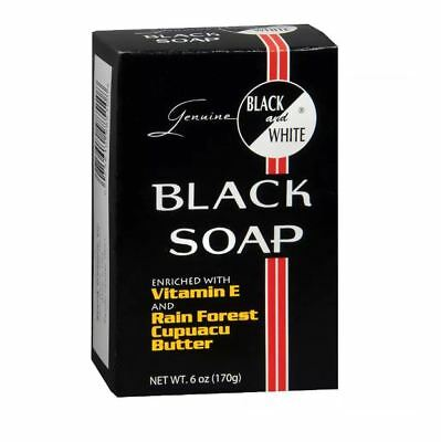 Bath & Body Health & Beauty Intellective Black&white Jabón Negro Con Vitamina E & Rain Forest Cupuacu Manteca 177ml