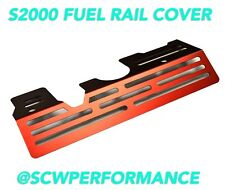 00-05 Honda S2000 Aluminum Fuel Rail Cover AP1 2000-2005 F20C RED Custom Rare