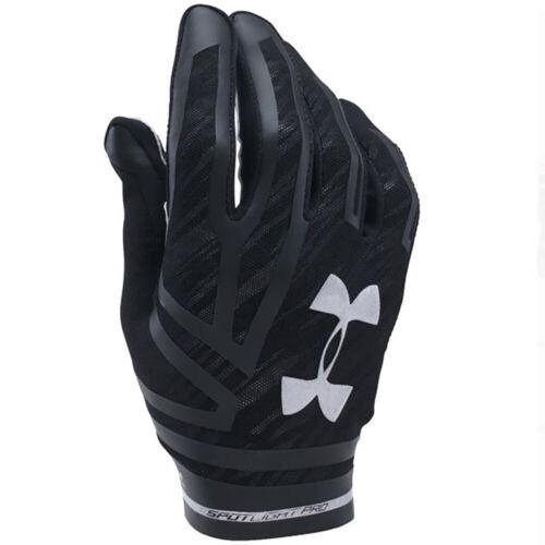 NEW Mens Under Armour UA Spotlight Pro Receiver Football Gloves Pick Sz /& Color