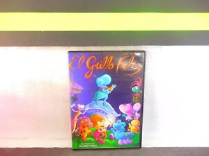 El Grillo Feliz , Happy Cricket  Latin Annimated  on DVD Rare