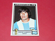 109 ORTIZ 1978 ARGENTINA 78 FOOTBALL PANINI WORLD CUP STORY 1990 SONRIC'S