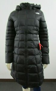 NWT-Womens-The-North-Face-TNF-Metropolis-Parka-Long-Down-Warm-Jacket-Black