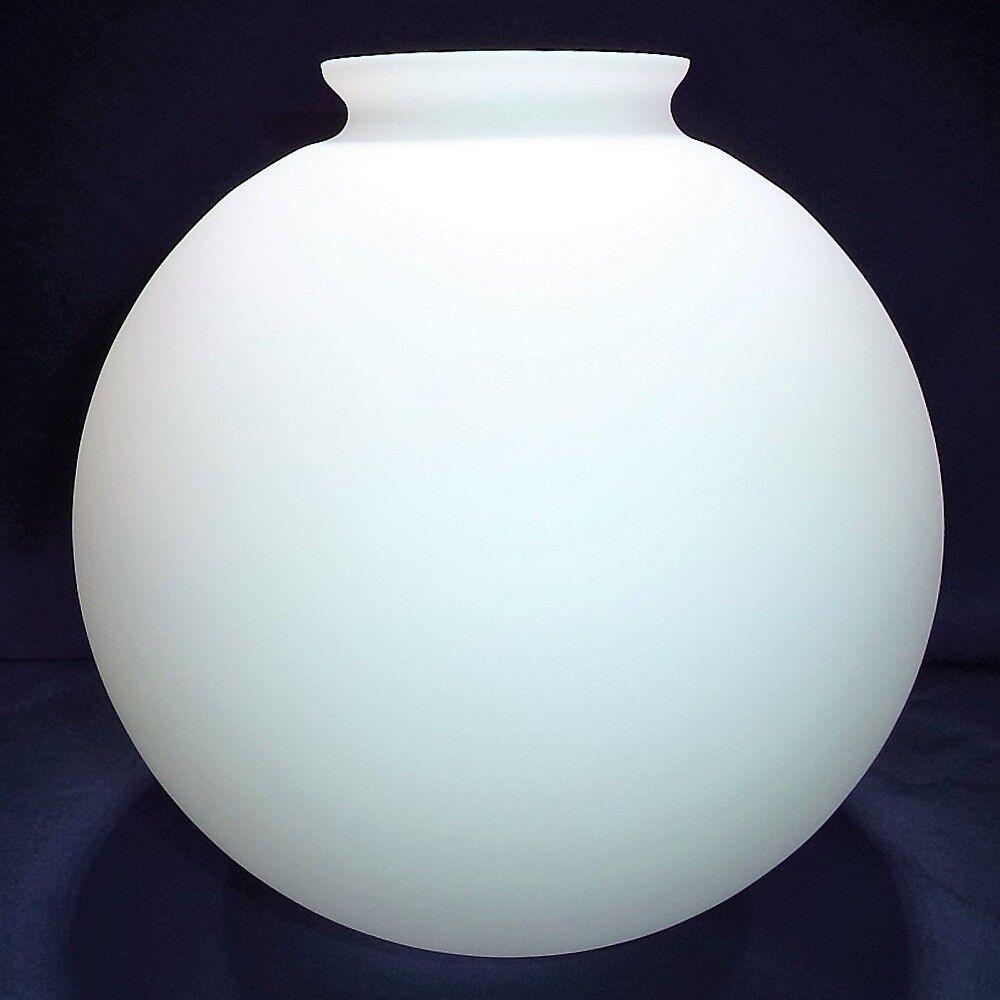 Ersatzglas Opalglas Lampenglas Opalkugel matt Ø300mm - Kragenrand Ø115mm -