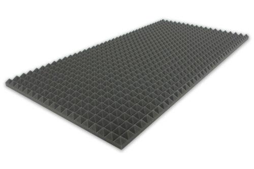 Pyramidenschaumstoff SELBSTKLEBEND TYP 100x50x3 Akustik Schall Schutz Dämmung