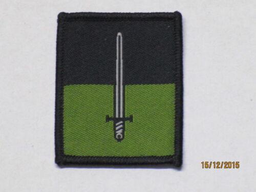 2x Royal Signals Patch 16th Signal Regiment 45mm x 55mm, TRF Abzeichen