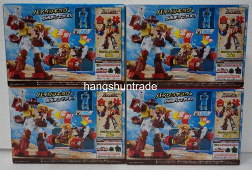 Bandai Ninninger Power Rangers Ninja Steel Bull Rider Bison King Megazord Set