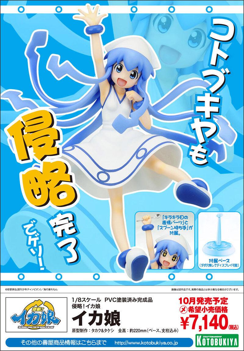 Ika Musume - Shinryaku  Ika Musume 1 8 Kotobukiya figure PVC