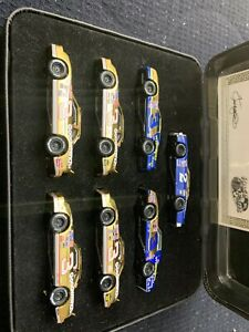 DALE-EARNHARDT-7-Time-Winston-Cup-Championship-24kt-GOLD-FINISH-1-64-RARE-Set