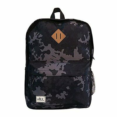 Cabin Max Haul School Sports Bag Backpack Rucksack Daypack Childrens Grey Camo