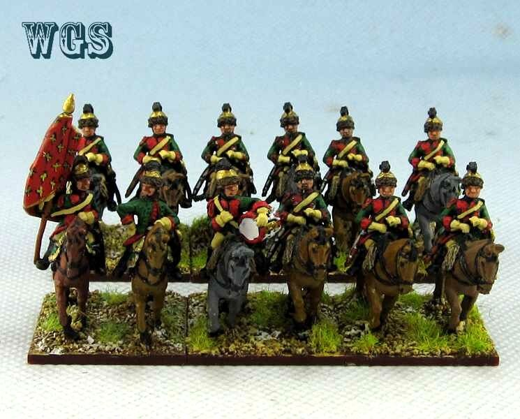 15mm SYW Seven Years War WGS painted French Schomberg Dragoons FB4