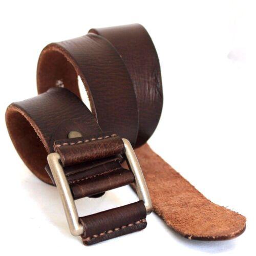 Genuine Casual Ceinture vintage en cuir à la taille de luxe ceinture 43 mm Boucle Robe Pin