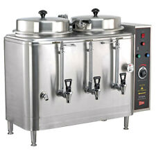 Cecilware Fe100n 3 Phase Twin 3 Gallon Automatic Coffee Urn
