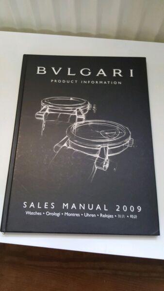 Bvlgari Product Information, Sales Manual 2009, Uhrenkatalog, Sehr Guter Zustand Gute Begleiter FüR Kinder Sowie Erwachsene