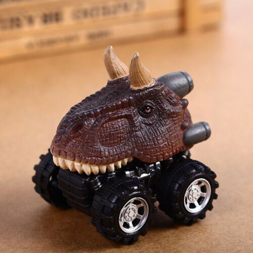 1PC Cool Children Gift Toy Boy Dinosaur Model Mini Toy Car Back Of The Car Gift