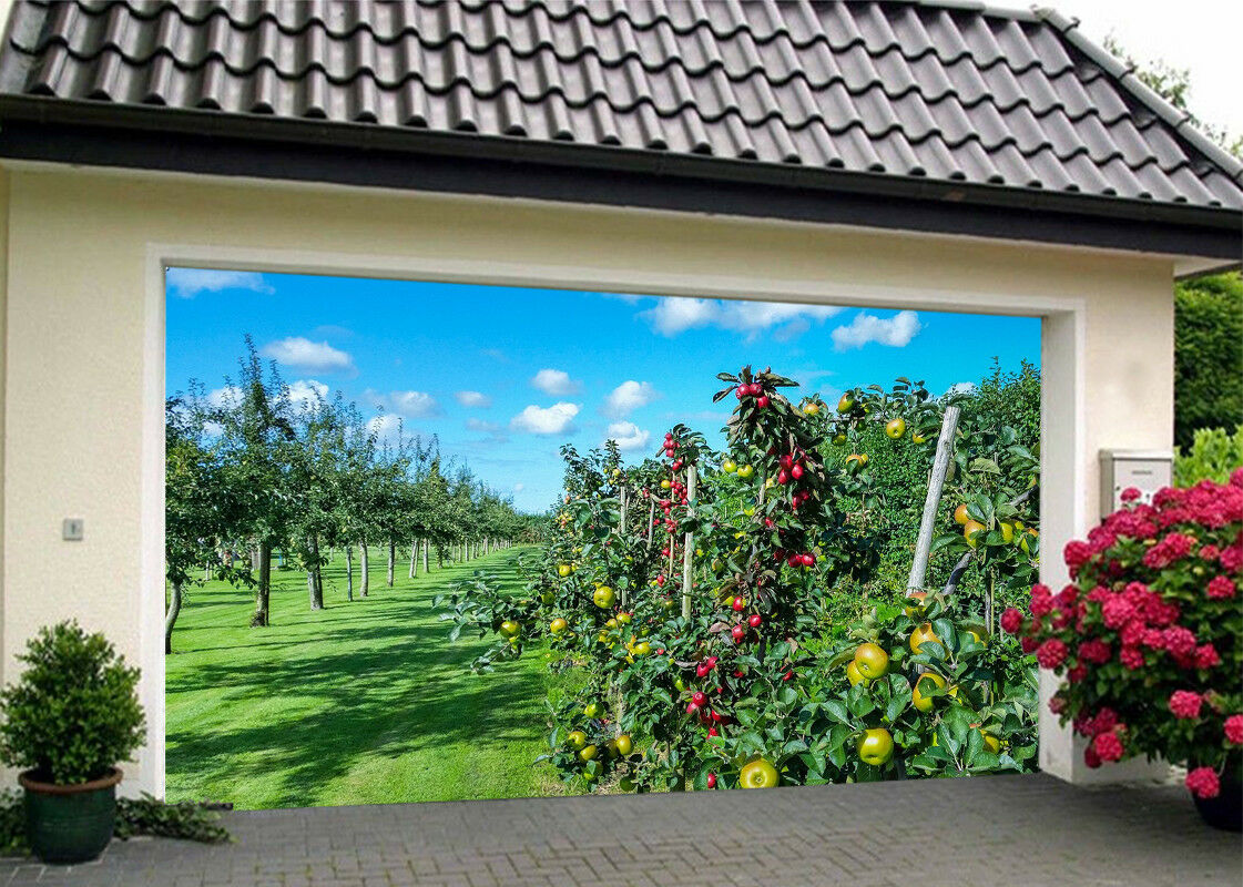 3D Fruit Trees 45 Garage Door Murals Wall Print Decal Wall AJ WALLPAPER AU Lemon