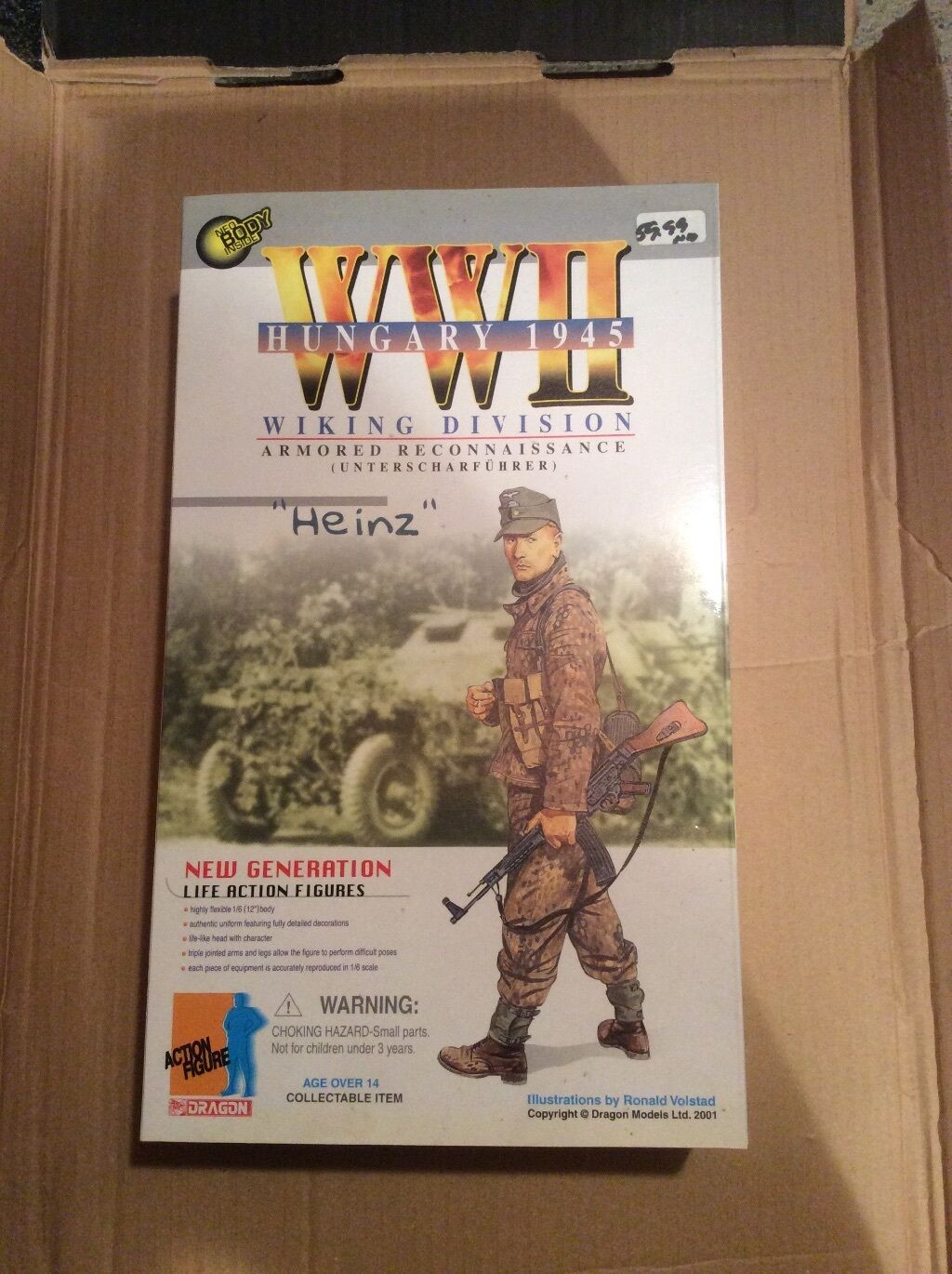 Dragon Action Figures  Heinz  Wiking Div Armored Recon