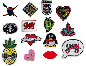 Iron-On-Patch-Badge-Transfer-Embroidered-Clothing-Sticker-for-top-jacket