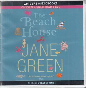 Jane-Green-The-Beach-House-8CD-Audio-Book-Unabridged-Literary-Fiction-FASTPOST