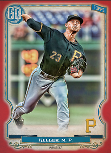2020 Topps BUNT Mitch Keller Gypsy Queen RED Base ICONIC! [DIGITAL CARD}