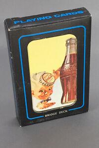 Coca-Cola-New-Old-Stock-Sprite-Boy-Bridge-Deck-Playing-Cards-Vintage