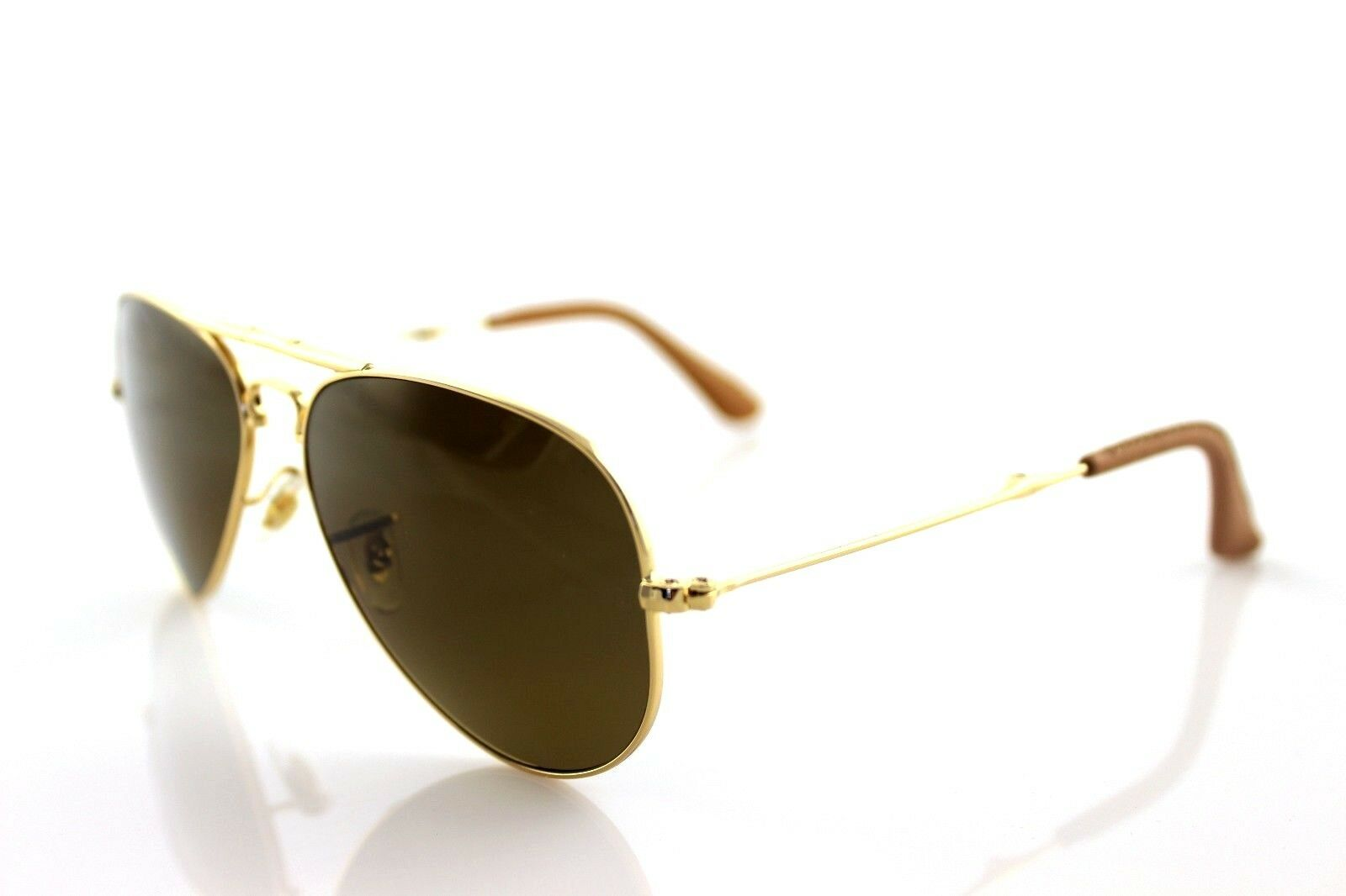 78bbe71c58  800 RAY-BAN 22KT GOLD PLATED Folding AVIATOR Sunglasses RB 3479KQ 001 M7  3025