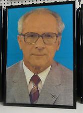 Erich Honecker,  Bild  ca. 20 x 30 cm