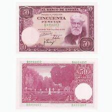 1951 SPAIN - 50 Pesetas Banknote - P141a - UNC.
