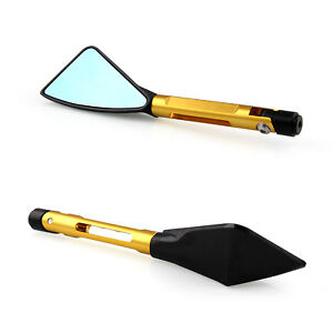 CNC Aluminum Universal Triangle Motorcycle Bike Rear Side Rearview Mirrors