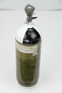 Draeger-6-Liter-300-bar-CFK-Atemluftflasche-Pressluftflasche-Composite-Bottle