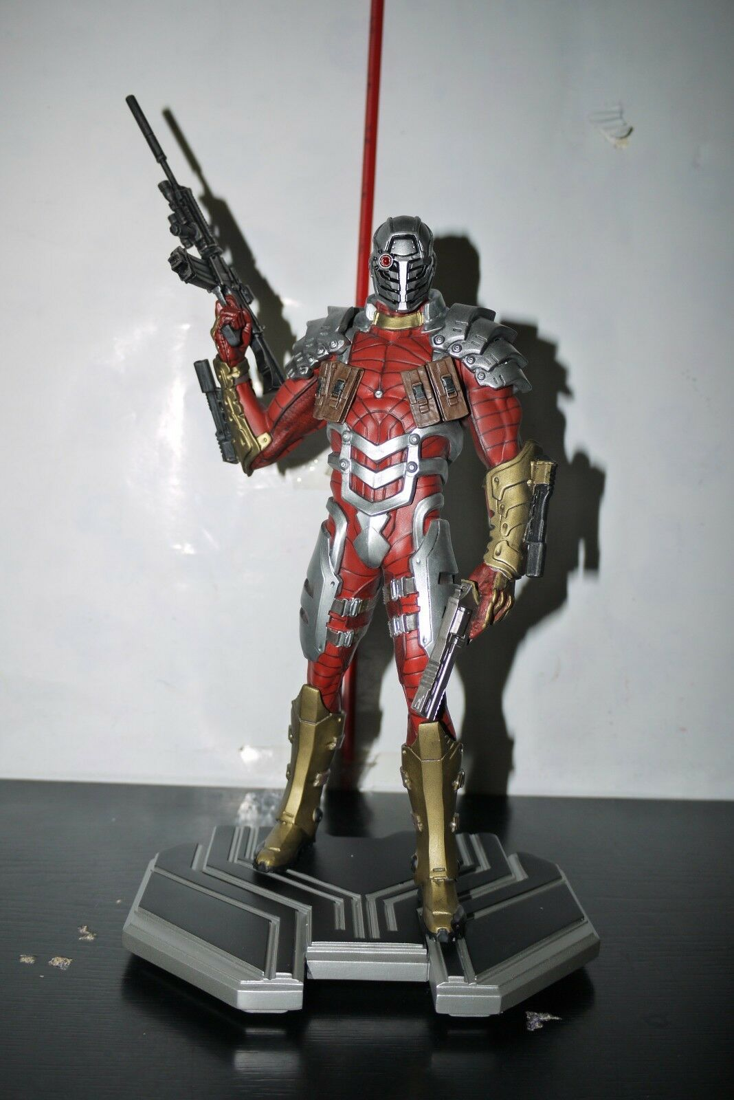 DC iconos Deadshot 1 6 estatua Collectibles 955 5200 En Caja
