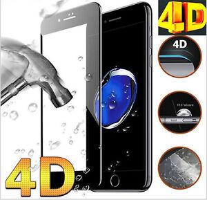 Pellicola-Vetro-Temperato-4D-CURVO-per-iPhone-X-8-7-6-6s-Plus-Protezione-new